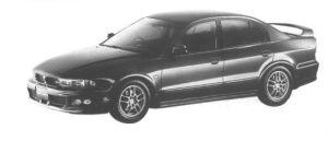 Mitsubishi Galant VR-4 TYPE-S 1998 г.