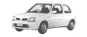 Nissan March 3DOOR 1300G' 1998 г.