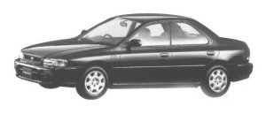 Subaru Impreza HARD TOP SEDAN CS-EXTRA 1998 г.