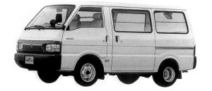 Nissan Vanette VAN 2WD DOUBLE TIRE 5DOOR DX 2200 DIESEL 1998 г.