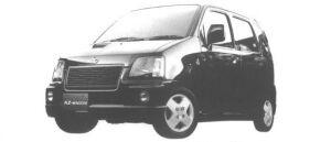Mazda AZ-Wagon 5DOOR RR-F TURBO 2WD 1998 г.
