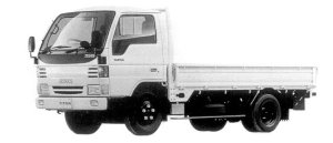 Mazda Titan 3T WIDE&LOW, STANDARD CAB&BODY 4.3L 1998 г.
