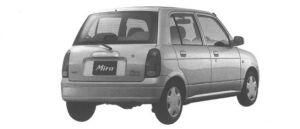 Daihatsu Mira CX 1998 г.