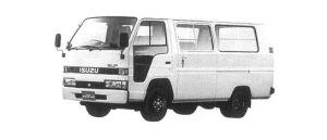 Isuzu Elf Route Van 1.45T STANDARD ROOF, FLAT LOW 1998 г.