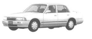 Nissan Crew 2000 GASOLINE LX SALOON 1998 г.
