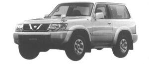 Nissan Safari 2DOOR HARD TOP TYPEII 2800 DIESEL 1998 г.