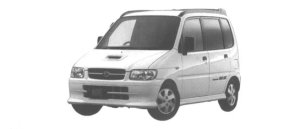 Daihatsu Move SR-XX 4WD 1998 г.