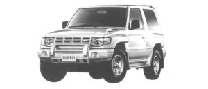 Mitsubishi Pajero METAL TOP ZR-S 1998 г.