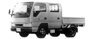 Nissan Diesel Condor 20 DOUBLE CAB, STANDARD FULL SUPER LOW 1998 г.