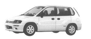 Mitsubishi RVR X 1998 г.
