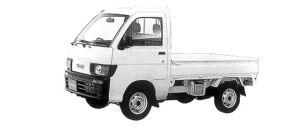 Daihatsu Hijet STANDARD 2WD 1998 г.
