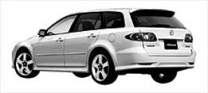 Mazda Atenza SPORT WAGON 23Z 4AT 2003 г.