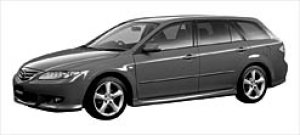 Mazda Atenza SPORT WAGON 23S 4WD 2003 г.
