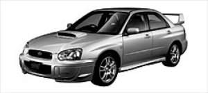 Subaru Impreza WRX Sti 2003 г.