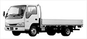 Isuzu Elf DUALMODE MT Wide Cab FLAT LOW LONG  BODY 2003 г.