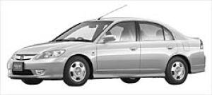 Honda Civic Hybrid  2003 г.