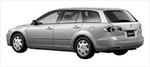Mazda Atenza SPORT WAGON 23C 4WD 2003 г.