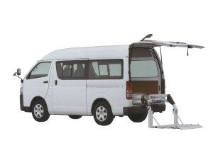 Toyota Regiusace Van with Lift 2015 г.