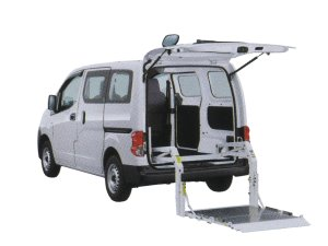Nissan NV200 Vanette Van with Lifter 2015 г.