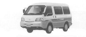 Nissan Vanette VAN 2WD LOW FLOOR HIGH ROOF 4DOOR, VX 2000 г.