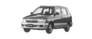 Daihatsu Pyzar CL LIMITED 2WD 2000 г.
