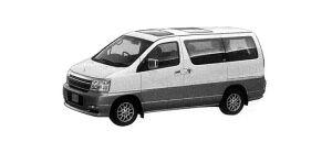 Nissan Elgrand X (2WD V6 3500 GASOLINE) 2000 г.