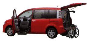Toyota Sienta Welcab, Passenger Lift-up Seat Vehicle, B type 2014 г.