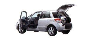 Suzuki SX4 with rotating & sliding front passenger seat Car 2007 г.
