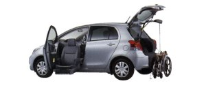 Toyota Vitz Welcab, Passenger Lift-up Car, B type 2008 г.
