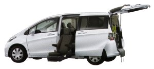 Honda Freed X (FF) Side Lift-up Seat Version 2014 г.