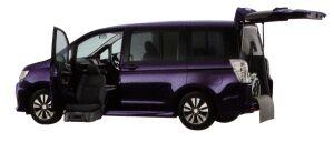 Honda Stepwgn SPADA, S Lift-up Passenger Seat Version 2014 г.