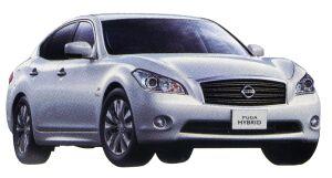 Nissan Fuga HYBRID 2014 г.