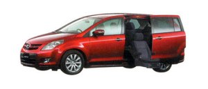Mazda MPV 23C Sporty Package Full Automatic Second Lift-up Seat Vehicle 2007 г.