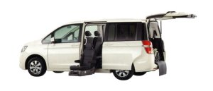 Honda Step Wagon G FF Side Lift-up Seat Version 2009 г.