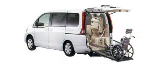 Nissan Serena Chair Cab Slope type (2-wheelchair) (2WD) 2007 г.