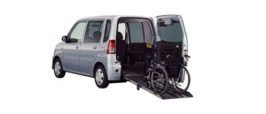 Mitsubishi Toppo Wheelchair Specification Kneel-down Type 2009 г.