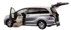 Honda Odyssey Lift-up Passenger Seat Version 2014 г.