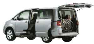 Mitsubishi Delica D5 with Moving Passenger Seat 2014 г.