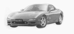 Mazda Efini RX-7 TYPE R 1993 г.