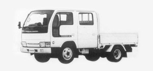 Nissan Diesel Condor 20 DOUBLE CAB, STANDARD, SUPER LOW 1993 г.