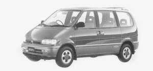 Nissan Vanette SERENA 2WD PX TOURING PACK GASOLINE 2000 1993 г.