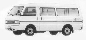 Mazda Bongo BRAWNY VAN 4WD 2200 DIESEL 5 DOORS LG 1993 г.