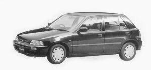 Daihatsu Charade CZ 1300 5DOORS 1993 г.