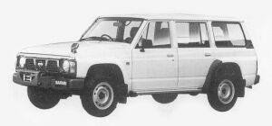 Nissan Safari VAN EXTRA DX 4200 DIESEL 1993 г.