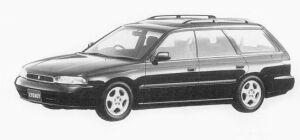 Subaru Legacy 4WD TOURING WAGON BRIGHTON 220 1993 г.