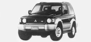 Mitsubishi Pajero METAL TOP ZR 1993 г.