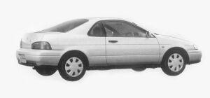 Toyota Cynos a 1993 г.