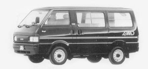 Mazda Bongo VAN 4WD 2/5 SEATERS 2.2 DIESEL 4 DOOR LG 1993 г.