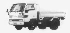 Mazda Titan 2T STANDARD CAB&BODY HIGH FLOOR 3.5L 4WD 1993 г.