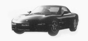 Mazda Efini RX-7 TYPER-II 1993 г.